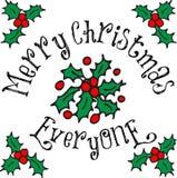 Merry Christmas Everyone Stock Photos