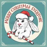 Merry Christmas Everyone Card Royalty Free Stock Photos