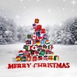 Merry Christmas everyone! Stock Photography