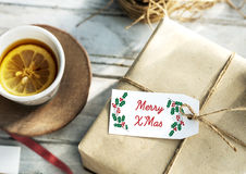 Merry Christmas Family Time Celebration Holiday Concept Royalty Free Stock Photography