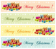 Merry Christmas ! Festive commercial banners. Merry Christmas ! Festive colorful commercial banners Royalty Free Stock Image