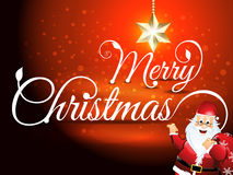 Merry christmas font background Stock Photos
