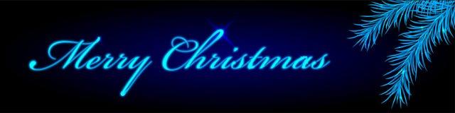 Merry Christmas frame Stock Image