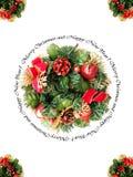 Merry christmas frame royalty free stock image