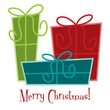 Merry Christmas! Royalty Free Stock Photos