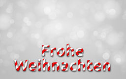Merry christmas (in german) Royalty Free Stock Photo