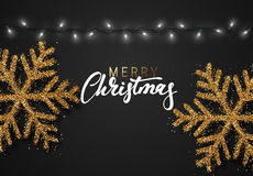 Merry Christmas. German inscription. Frohe Weihnachten. Royalty Free Stock Photos