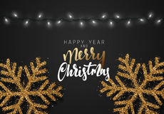 Merry Christmas. German inscription. Frohe Weihnachten. Royalty Free Stock Photography
