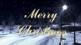 Merry Christmas in German Language - Videosequence. Merry Christmas in German Language - 10 Seconds Videosequence for Remix stock video footage