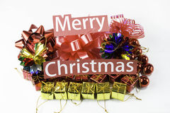 Merry christmas gift Royalty Free Stock Photo