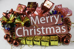Merry christmas gift Royalty Free Stock Image