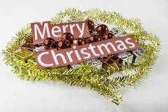 Merry christmas gift Stock Image