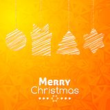 Merry Christmas gifts card abstract background Royalty Free Stock Photo