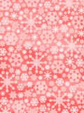 Merry Christmas!! Glowing Snowflakes Stock Photos