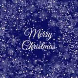 Merry Christmas gold glittering lettering design. Vector illustration Stock Photo