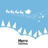 Merry Christmas graphic design Royalty Free Stock Photos