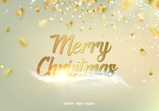 Merry christmas gray background. Stock Photos