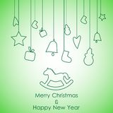 Merry Christmas24 Stock Photo