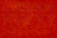 Merry christmas greeting background Royalty Free Stock Image