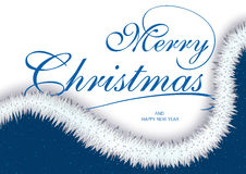 Merry Christmas Greeting Royalty Free Stock Images