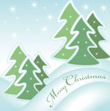 Merry christmas greeting card 1 Royalty Free Stock Photo
