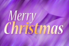 Merry Christmas - Greeting card. Abstract colorful greeting card Merry Christmas Royalty Free Stock Photos