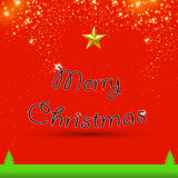 Merry Christmas, greeting card. Merry Christmas, art greeting card vector illustration