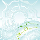 Merry christmas greeting card 3 Stock Image