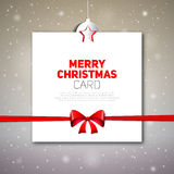 Merry Christmas greeting card. Merry Christmas greeting card royalty free illustration