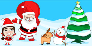 Merry Christmas. Christmas Greeting Card. Merry Christmas Royalty Free Stock Photography