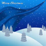 Merry christmas greeting card background Stock Photography