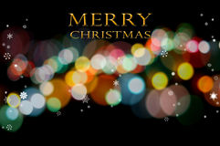 Merry christmas greeting card background Royalty Free Stock Photography