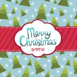 Merry Christmas greeting card background. Royalty Free Stock Photos