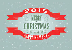 Merry Christmas greeting card. Merry Christmas greeting Banner. Vector stock illustration