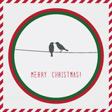 Merry Christmas greeting card2 Stock Image