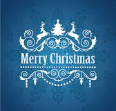 Merry Christmas. Royalty Free Stock Photo