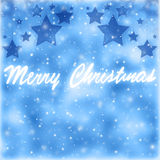 Merry Christmas greeting card border Stock Photos