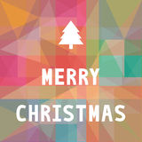 Merry Christmas greeting card6 Stock Images