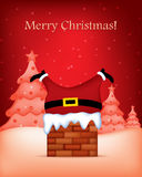 Merry christmas greeting Royalty Free Stock Image