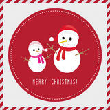 Merry Christmas greeting card3 Royalty Free Stock Images