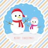 Merry Christmas greeting card5 Stock Photos