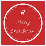 Merry Christmas greeting card9 Royalty Free Stock Images