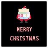 Merry Christmas greeting card10 Stock Image
