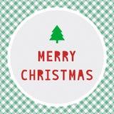 Merry Christmas greeting card12 Stock Image