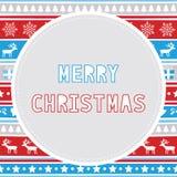 Merry Christmas greeting card29 Royalty Free Stock Photos