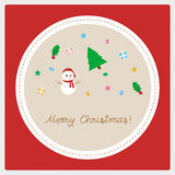 Merry Christmas greeting card22 Stock Images