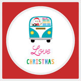 Merry Christmas greeting card36 Royalty Free Stock Photography