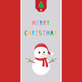 Merry Christmas greeting card38 Royalty Free Stock Photo