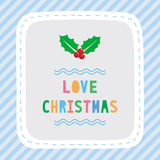 Merry Christmas greeting card33 Stock Images
