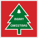Merry Christmas greeting card43 Royalty Free Stock Photography